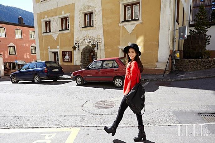 عکس های هان جی مین برای مجله عکس