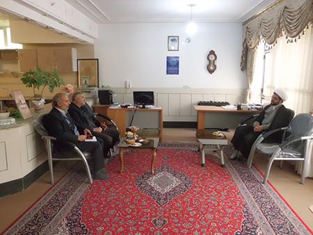دیدار مسئولین محترم بنیاد شهید و امور ایثارگران