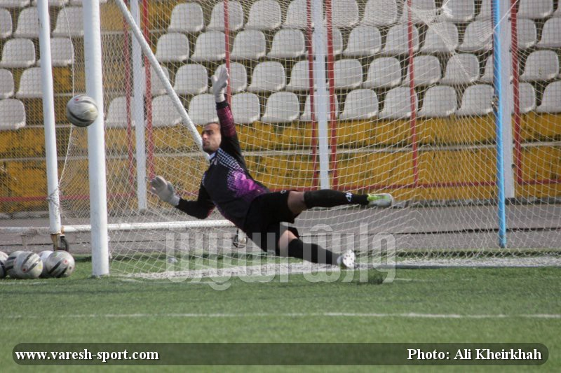 گزارش تصویری بازی داماش گیلان - رهپویان رضوانشهر