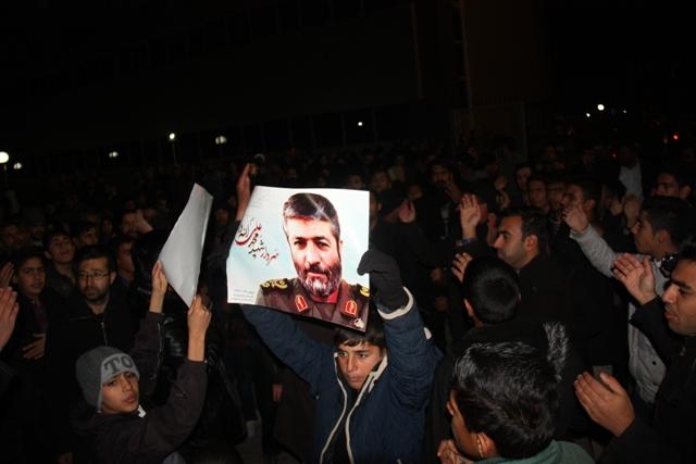 مراسم استقبال از پیکر مطهر سردار شهید محمدعلی الله دادی