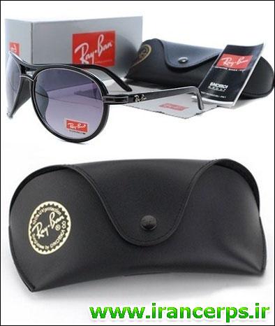 عینک افتابی مشکی اسپرت شیک ریبن مدل 8657