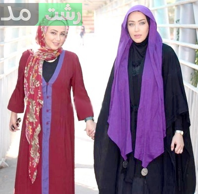 عکس مدلهای مانتو بلند بازیگران زن معروف زن ایرانی