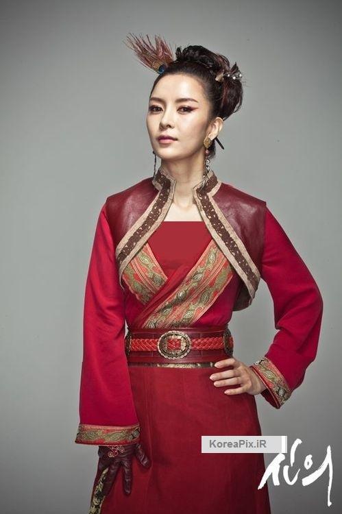عکس های شین یون جونگ بازیگر نقش دختر لباس قرمز در سریال سرنوشت