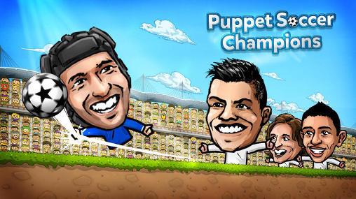 دانلود بازی اندروید Puppet soccer champions