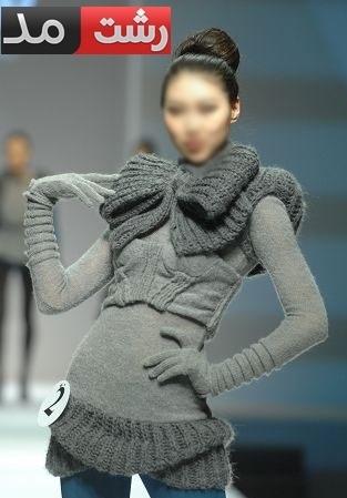 سری جدید لباس بافتنی شیک دخترانه فشن 2015