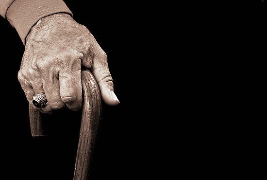 عصای پیرمرد
