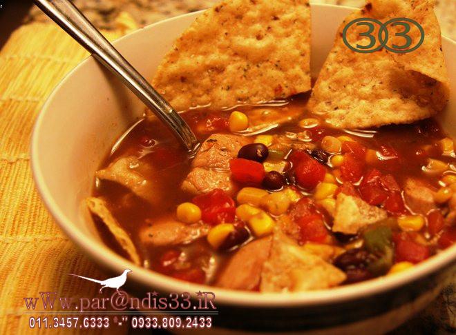 طرز تهیه سوپ قرقاول، تند و فوق العاده مقوی