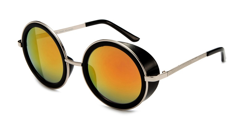 عینک آفتابی پرادا شیشه آتشی