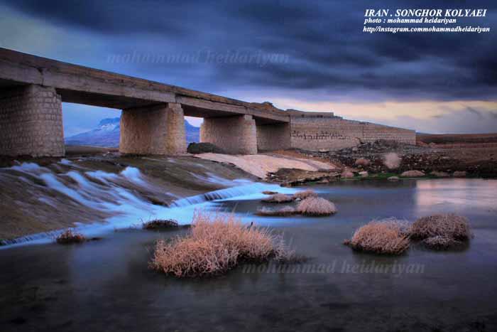 پل روستای قمام در منطقه سنقروکلیایی