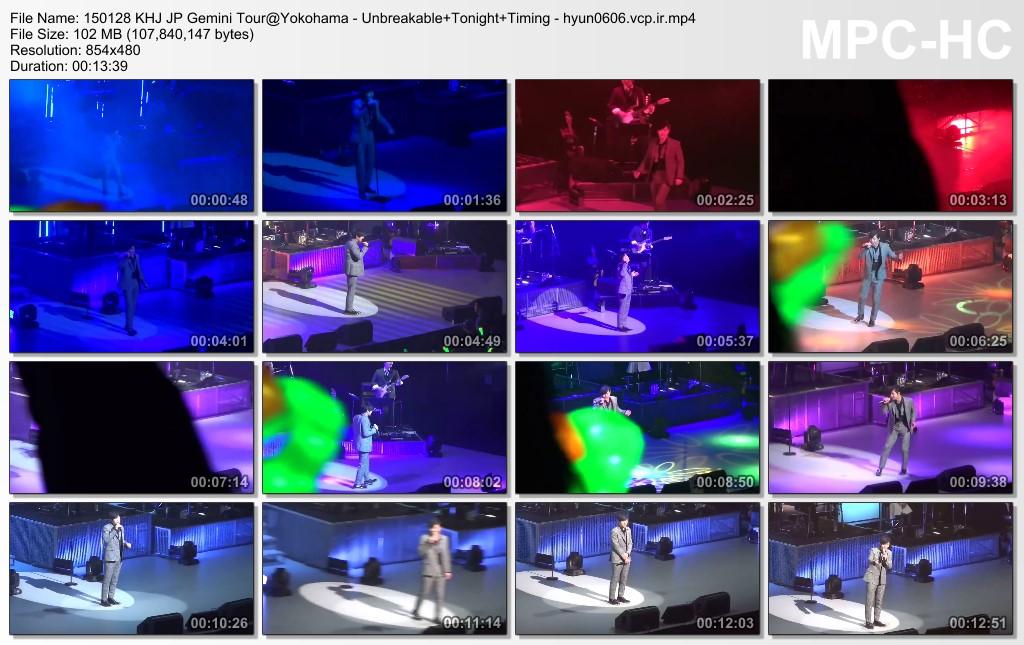 [elin park Fancam] Kim Hyun Joong Japan Tour 2015 GEMINI in Yokohama [15.01.28]