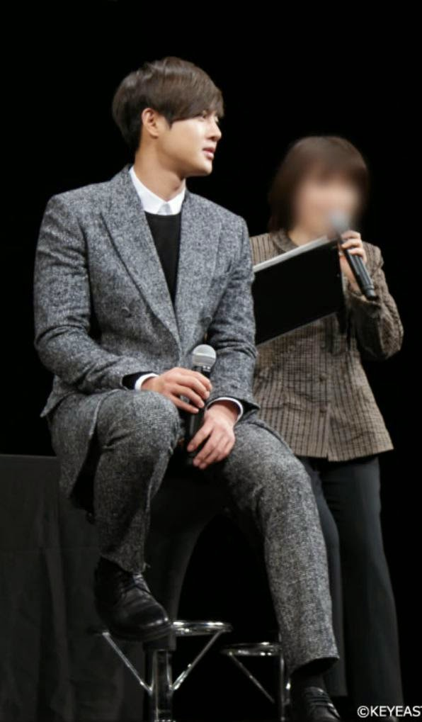 [Photo] Kim Hyun Joong - Japan Mobile Site Update [15.02.02]