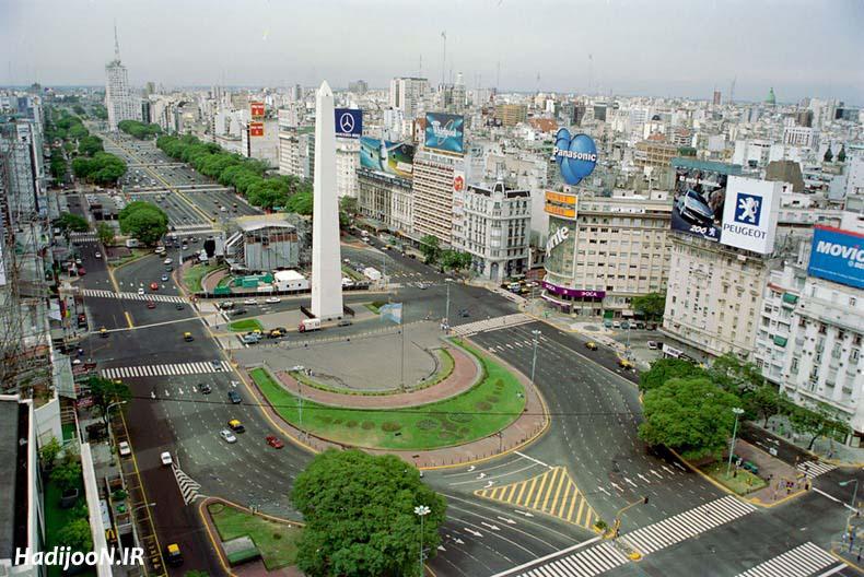 تصاویر عریض ترین خیابان جهان