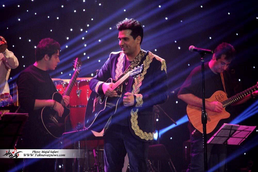 سری نهم عکسهای کنسرت 9 بهمن حمید عسکری