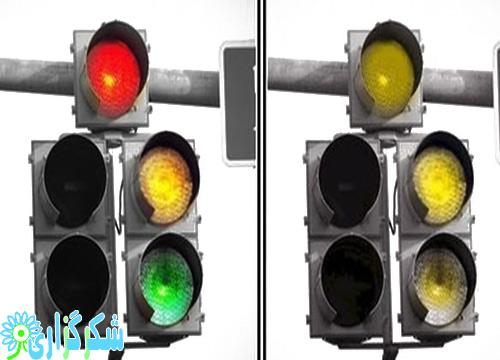 کور رنگی علائم نشانه ها تست کور رنگی عکس تصویر درباره توضیح