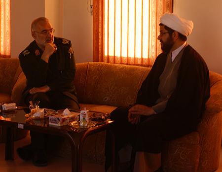 نشست با مدیرکل محترم بنیاد حفظ آثار و نشر ارزشهای دفاع مقدس استان اصفهان