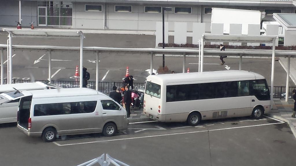 [nn naomi Fancam] Kim Hyun Joong - Arrival Sendai Airport [15.02.03]