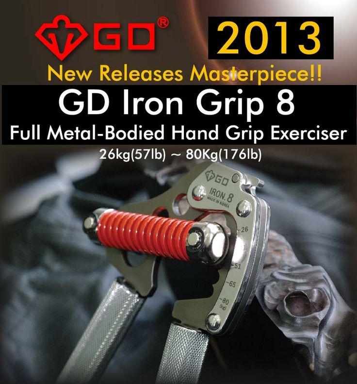 تقویت انگشتان بوسیله GD Iron Grip