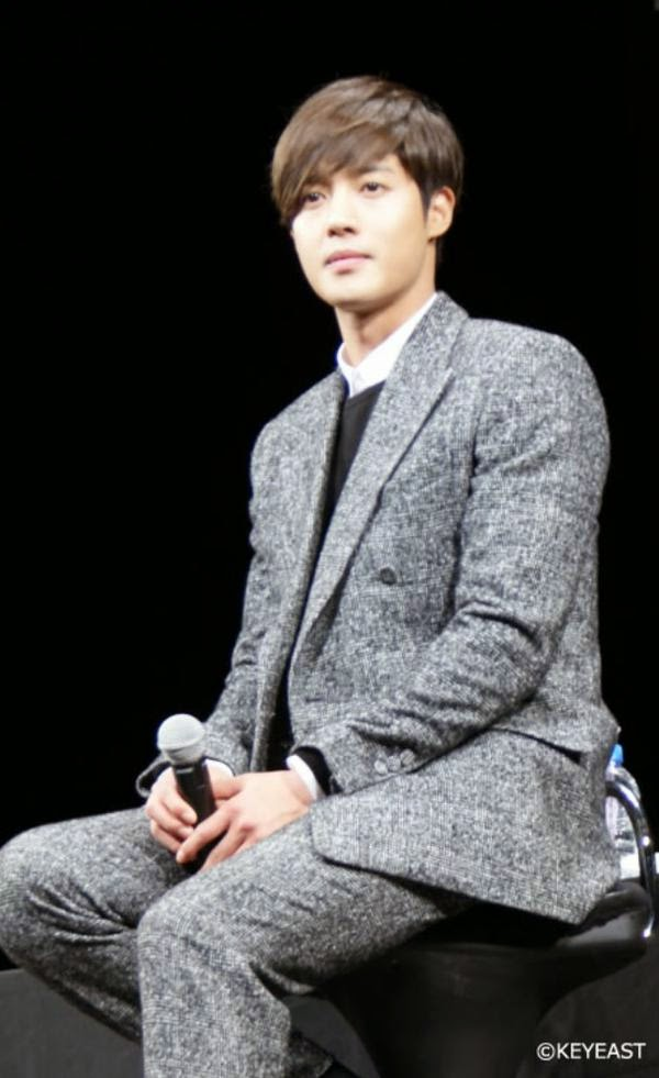 [Photo] Kim Hyun Joong - Japan Mobile Site Update [15.02.06]