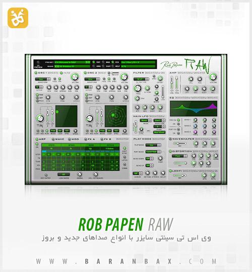 دانلود سینتی سایزر Rob Papen RAW