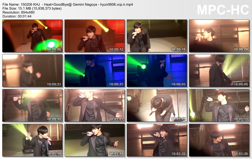[HollisHyun Fancam] Kim Hyun Joong Japan Tour 2015 GEMINI in Nagoya [15.02.06]