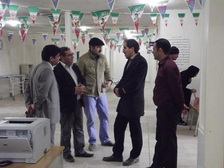 بازدید از مراکز بهداشتی وآب شرب وپسماند شهر