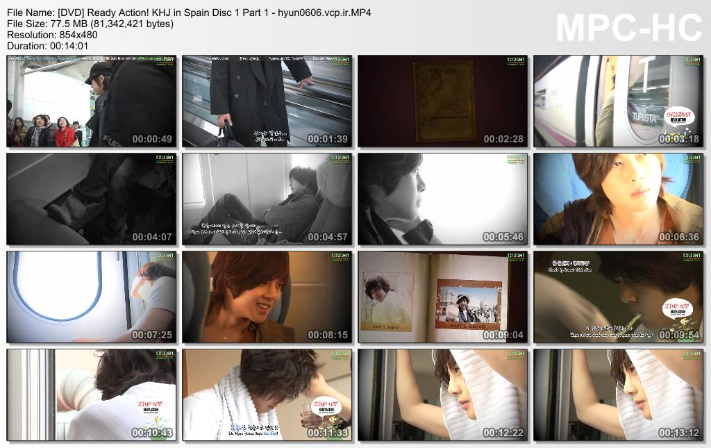 Ready. Action! Kim Hyun Joong in Spain Disc 1 Part 1