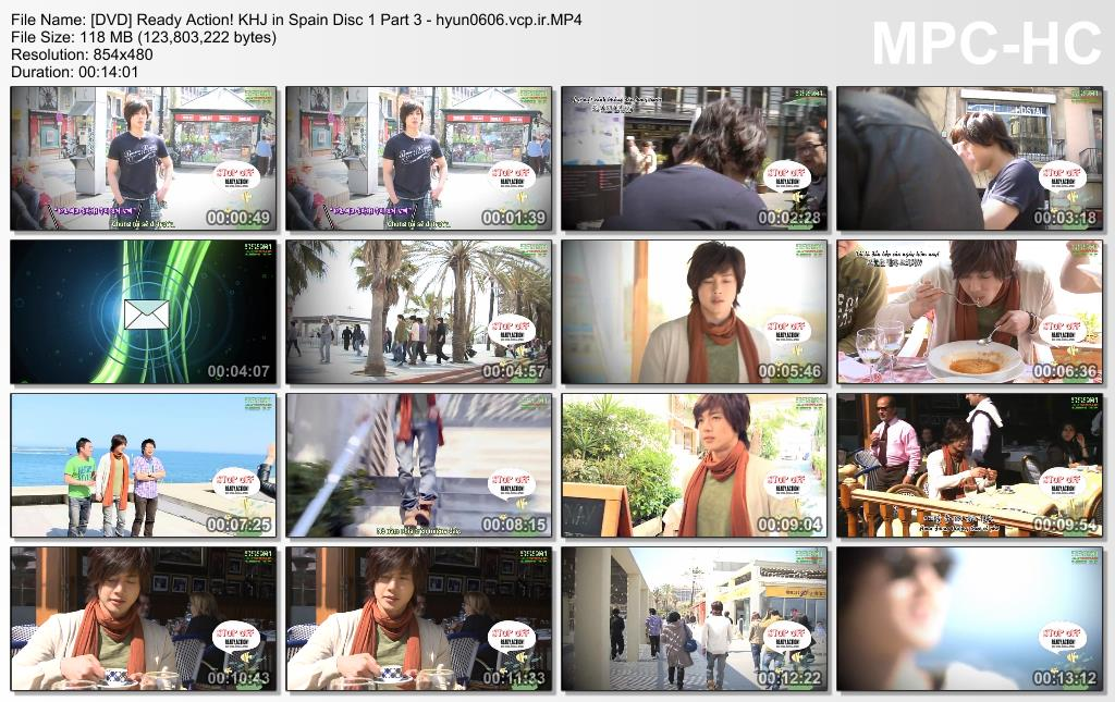 Ready. Action! Kim Hyun Joong in Spain Disc 1 Part 3