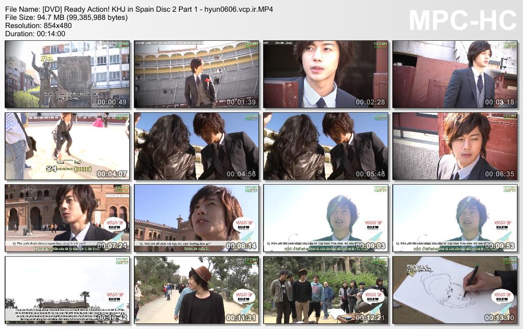 Ready. Action! Kim Hyun Joong in Spain Disc 2 Part 1