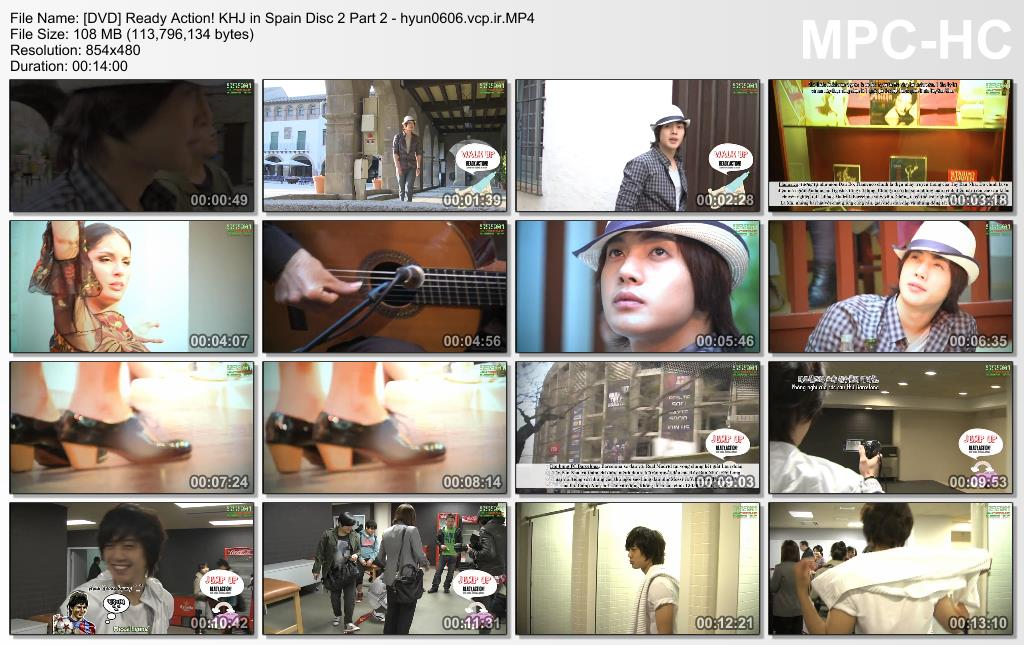 Ready. Action! Kim Hyun Joong in Spain Disc 2 Part 2