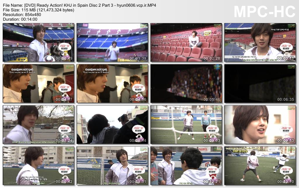 Ready. Action! Kim Hyun Joong in Spain Disc 2 Part 3