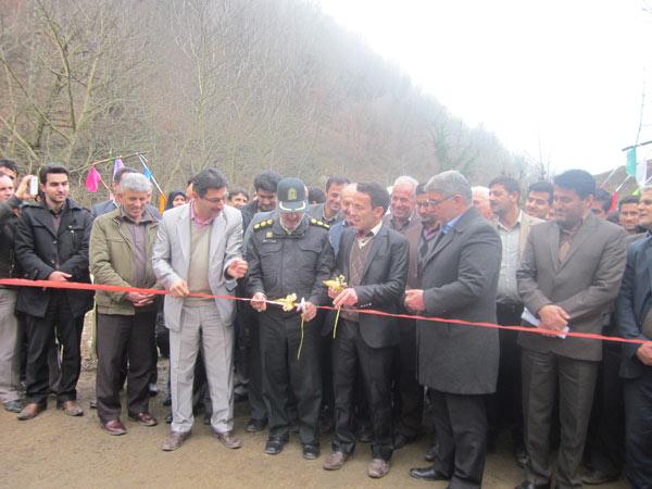 ماسال نیوز افتتاح پل در مرکیه ماسال