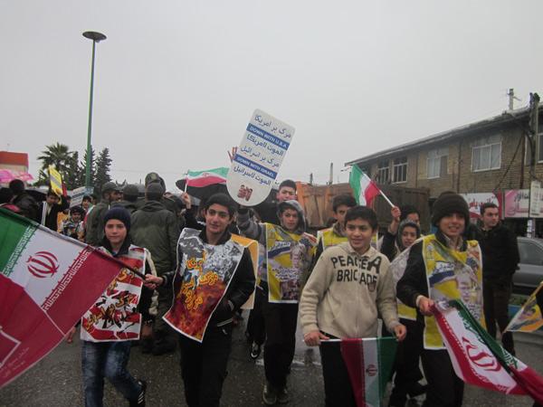 ماسالنیوز تصاویر راهپیمایی در شاندرمن