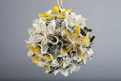 دانلود کتاب آموزش ساخت گلهای کاغذی