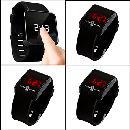 خرید اینترنتی ساعت مچی تاج تمام لمسی