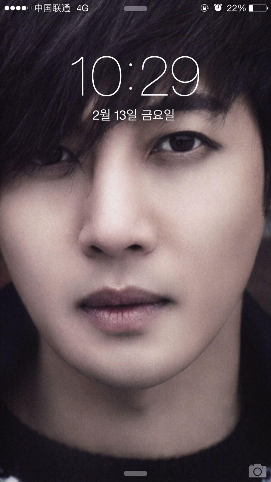 Hyun Joong Screen Saver - So Handsome Upclose