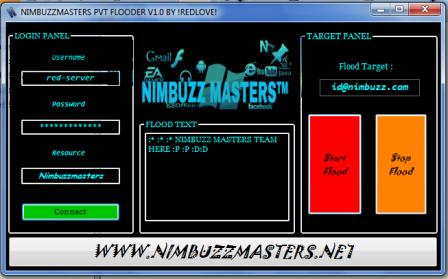 NimbuzzMasters pvt flood v1.0 Nbmred