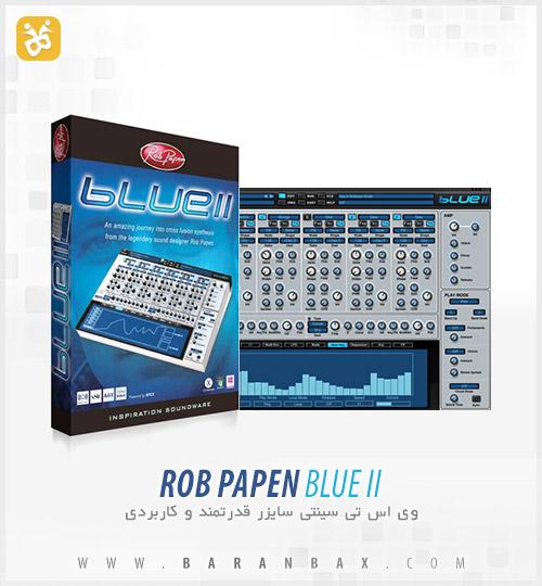 دانلود وی اس تی سینتی سایزر Rob Papen Blue II