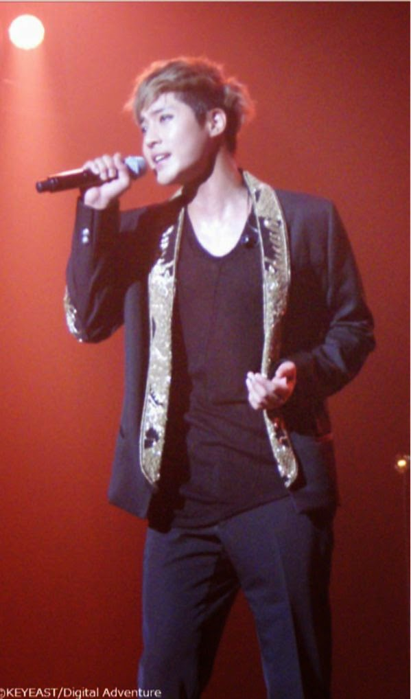 [Photo] Kim Hyun Joong Japan Mobile Site Update [15.2.16]