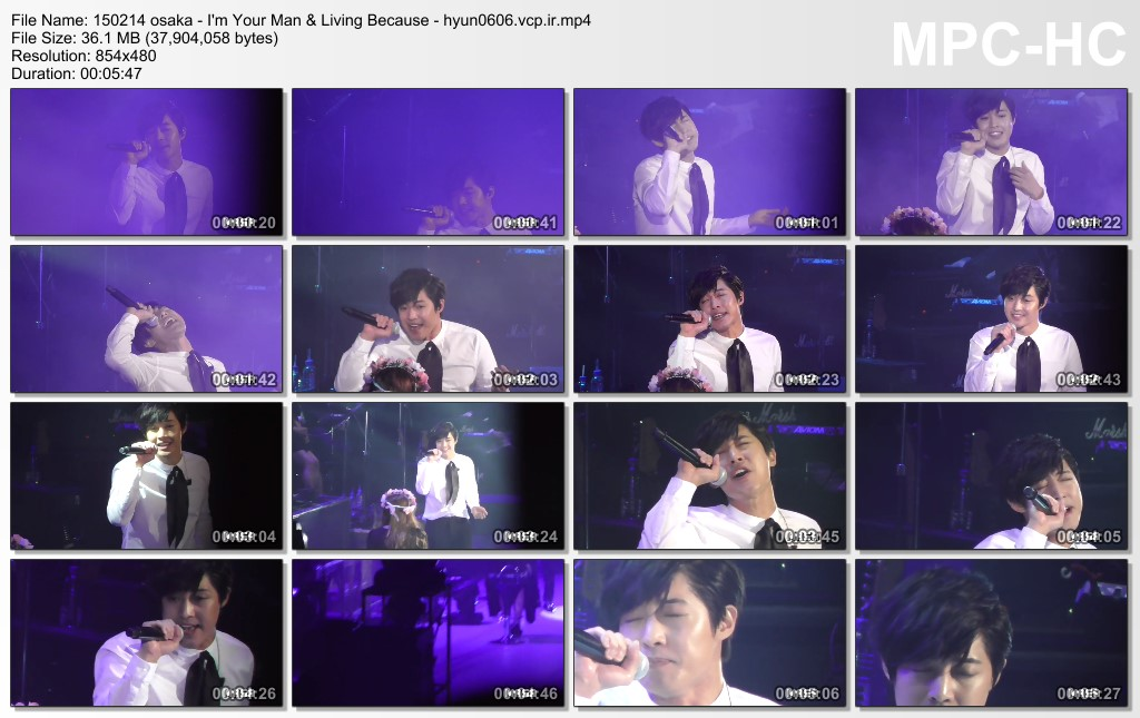 [masa06hj Fancam] Kim Hyun Joong Japan Tour 2015 GEMINI in Osaka [15.02.14]