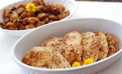 آشپزی,آموزش آشپزی,سایت آشپزی,طرز تهیه مرغ سرخ شده با لیمو عمانی