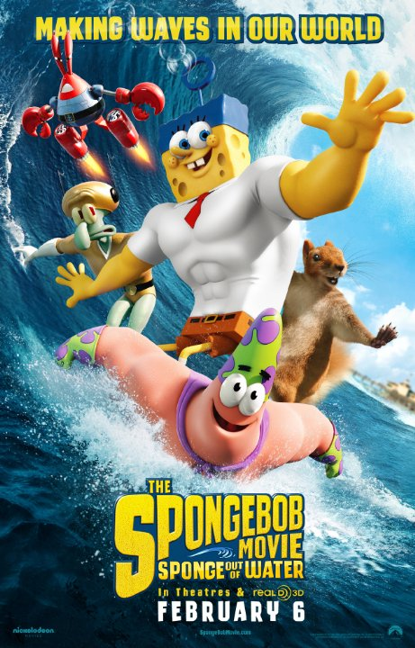 دانلود انیمیشن The SpongeBob Movie: Sponge Out of Water 2015