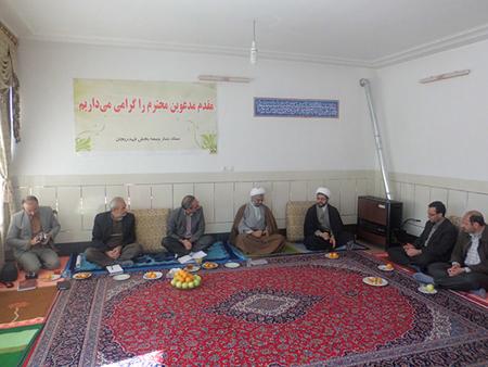 دیدار مسئولین ستاد زکات و کمیته امداد امام خمینی (ره)