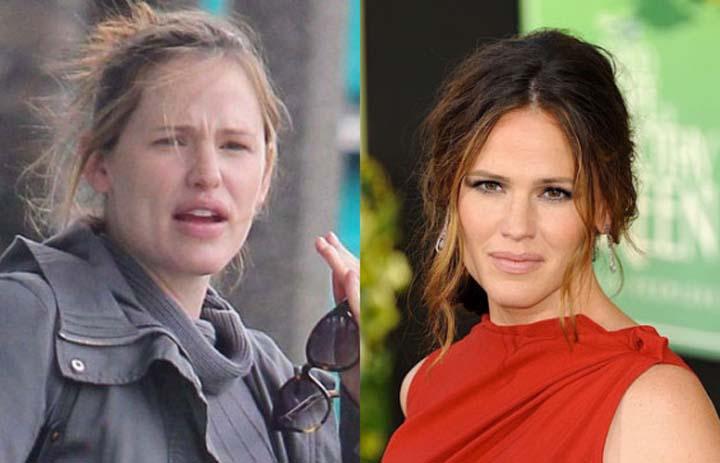 ستاره های مشهور سینما بدون آرایش+عکس های جدید