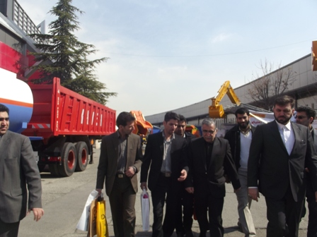 بازدید شورای محترم شهر ودفتر فنی شهرداری از نمایشگاه خدمات شهری تهران