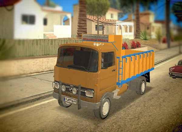 خاور بنز برای GTA SA