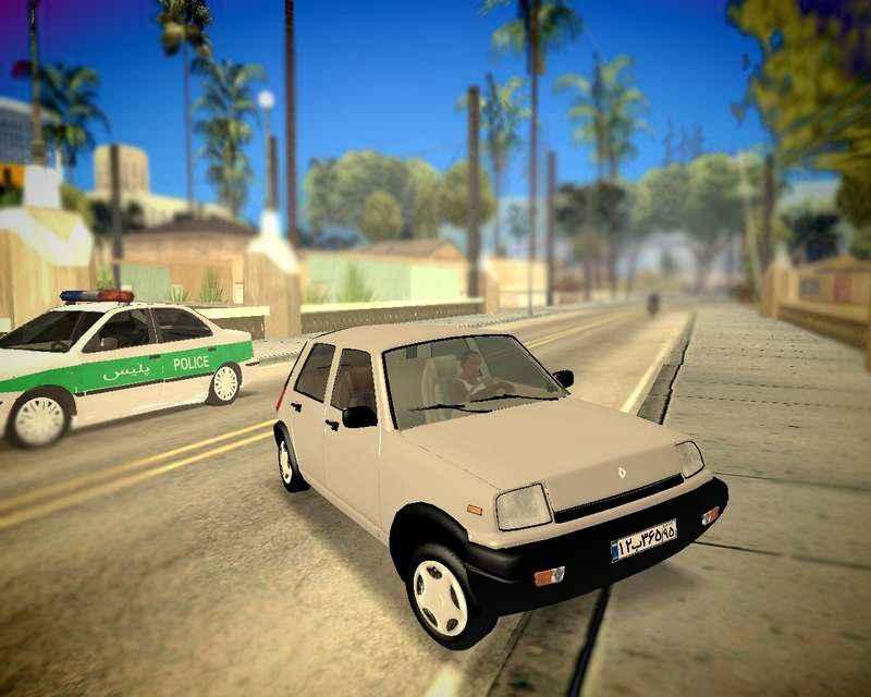 رنو پی کی برای GTA SA