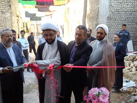 افتتاح ساختمان قلندر  اسماعیل کردگانی توسط امام جمعه قهدریجان
