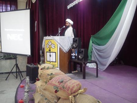سخنرانی امام جمعه قهدریجان در جمع بسیج دانش آموزی فلاورجان