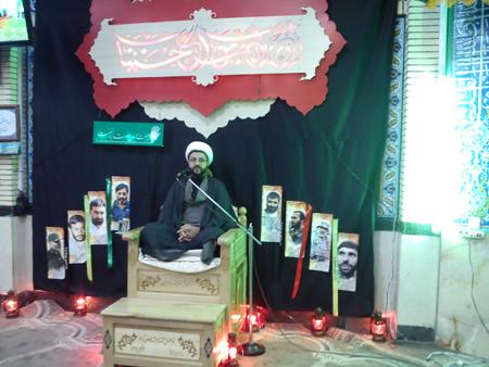 ایراد سخنرانی امام جمعه قهدریجان در مسجد امام حسین (ع) اصفهان
