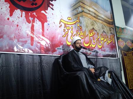 سخنرانی حجت الاسلام و المسلمین هاشمی در مسجد امام حسن عسکری دشتچی